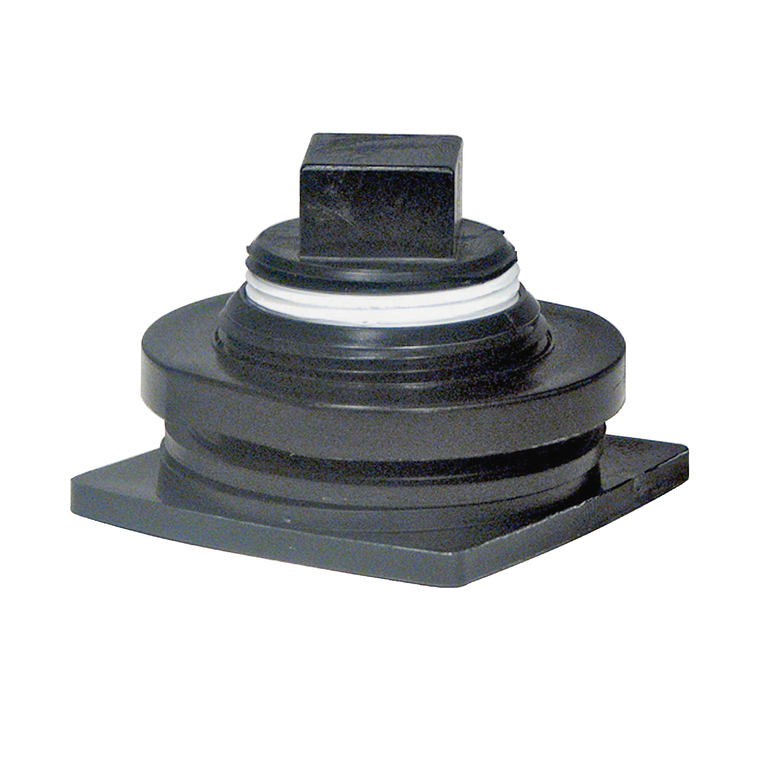 Picture of Rubbermaid 5050-12 Stock Tank Drain Plug Kit, Plastic, For: 4242, 4243, 4244, 4245 and 4247 Stock Tank