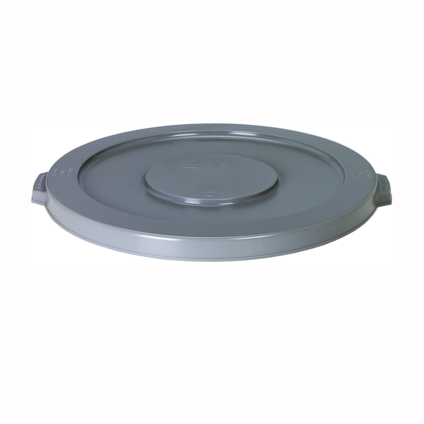 Picture of CONTINENTAL COMMERCIAL Huskee 5501GY Receptacle Lid, 55 gal, Plastic, Gray, For: Huskee 5500 Container