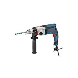 Picture of Bosch HD21-2 Hammer Drill, 120 V, 9.2 A, 7/8 in Concrete, 1-5/8 in Wood Drilling, 1/2 in Chuck, Keyed Chuck