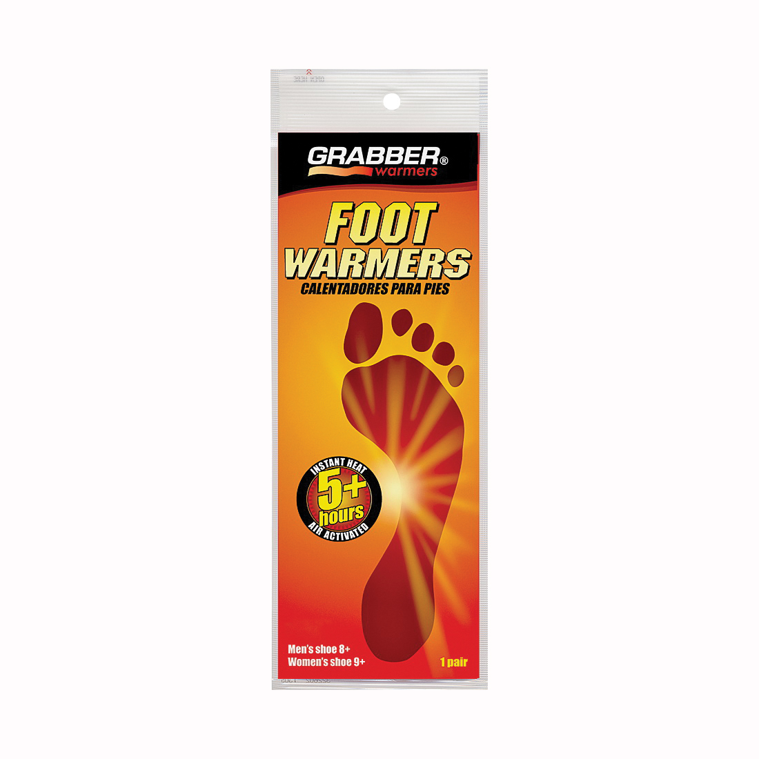 Picture of Grabber Warmers FWSMES Foot Warmer, Non-Toxic