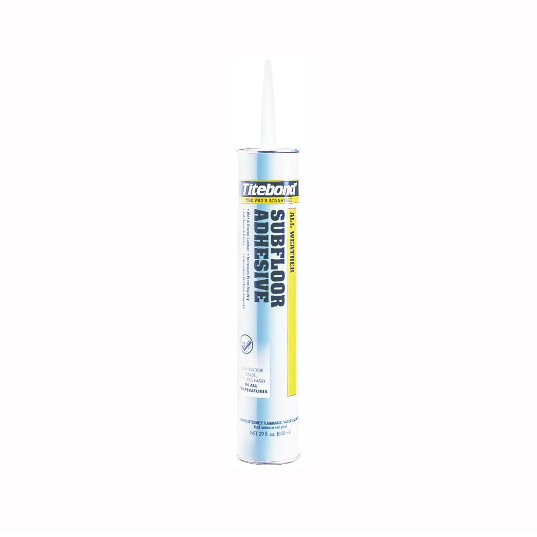 Picture of Titebond 5492 Subfloor Adhesive, Light Tan, 28 oz Package, Cartridge