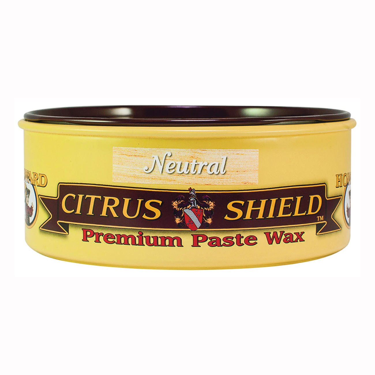 Picture of HOWARD CS0014 Paste Wax, Neutral, Waxy Solid, 11 oz, Can
