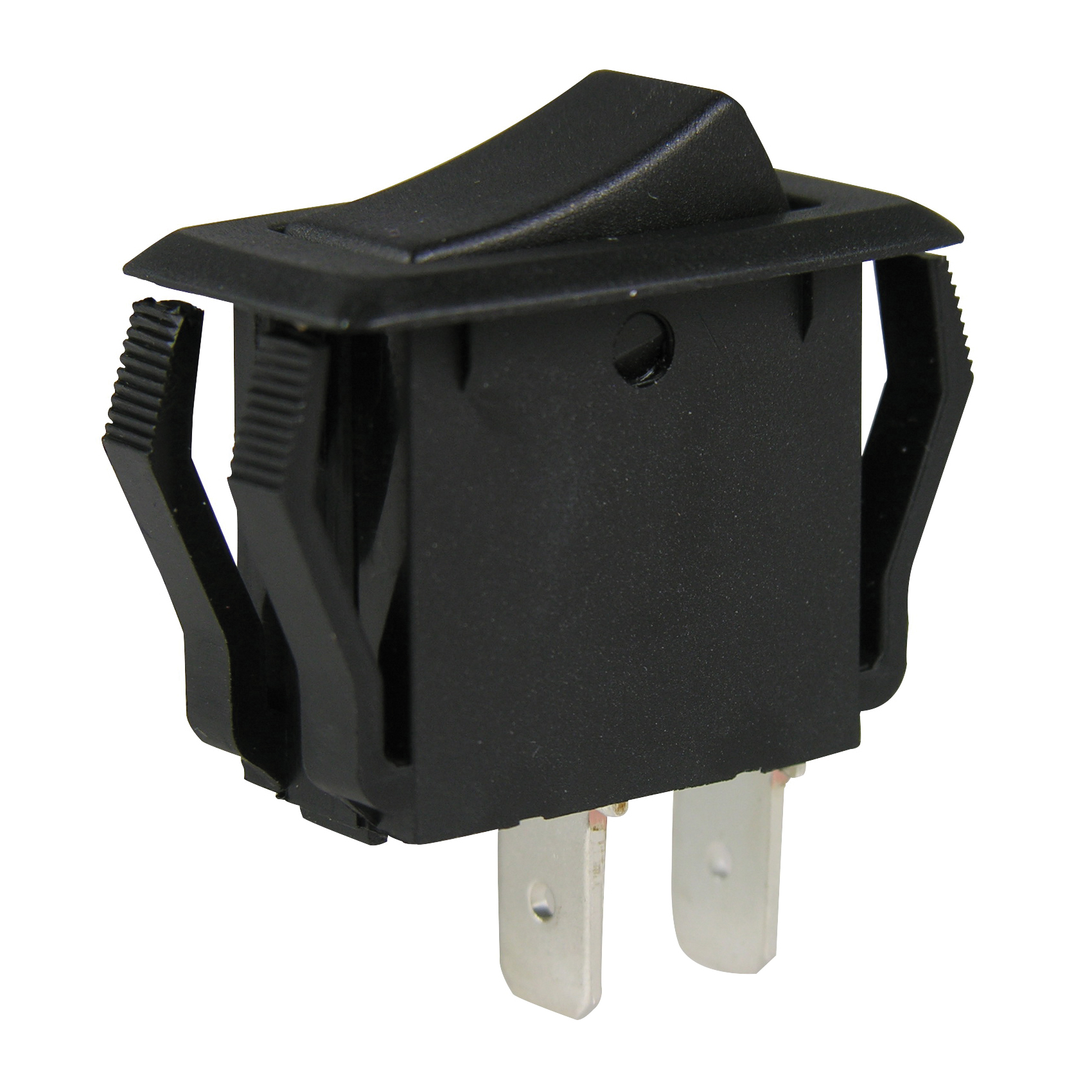 Picture of GB GSW Series GSW-41 Rocker Switch, 8/16 A, 125/250 V, SPST, 0.55 x 1.125 in Panel Cutout, Nylon Housing Material