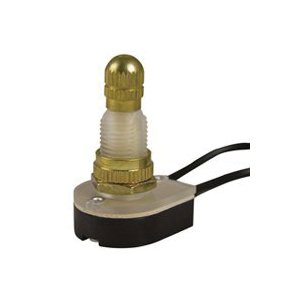 Picture of GB GSW-61 Rotary Switch, 6/3 A, 125/250 V, SPST, Brass