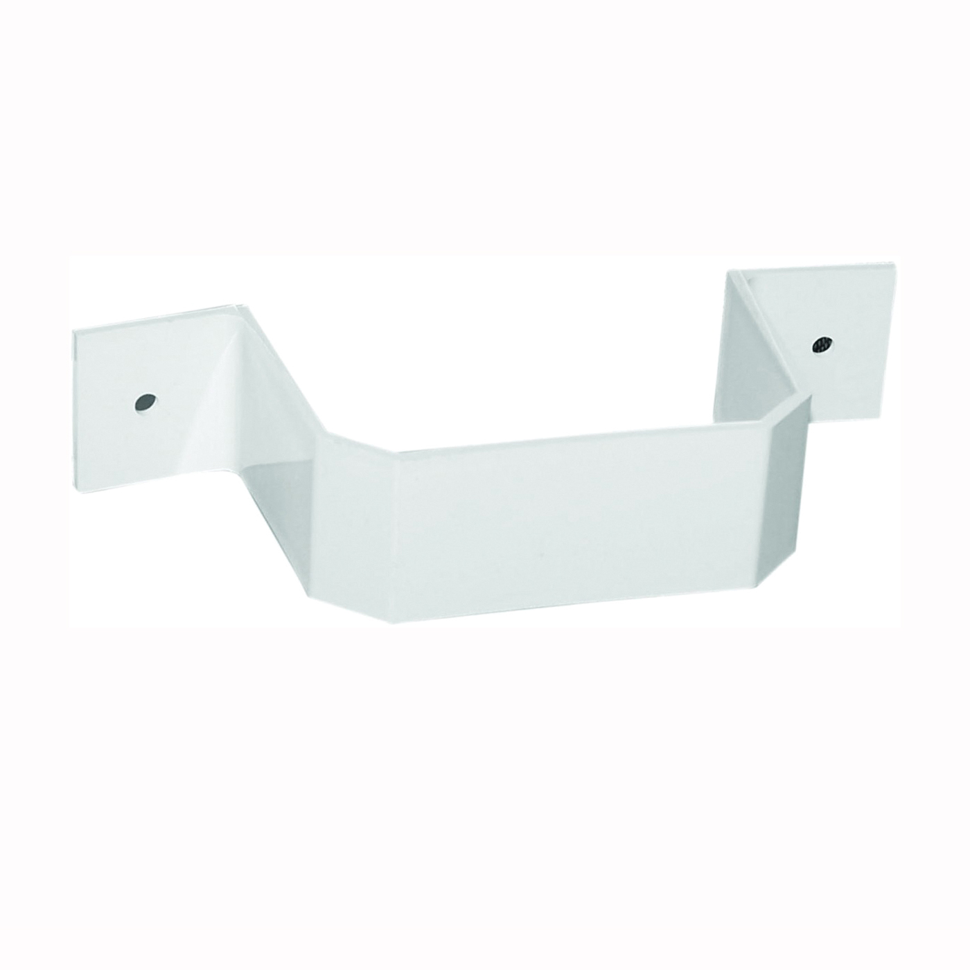 Picture of GENOVA AW202 Downspout Bracket, Vinyl, White