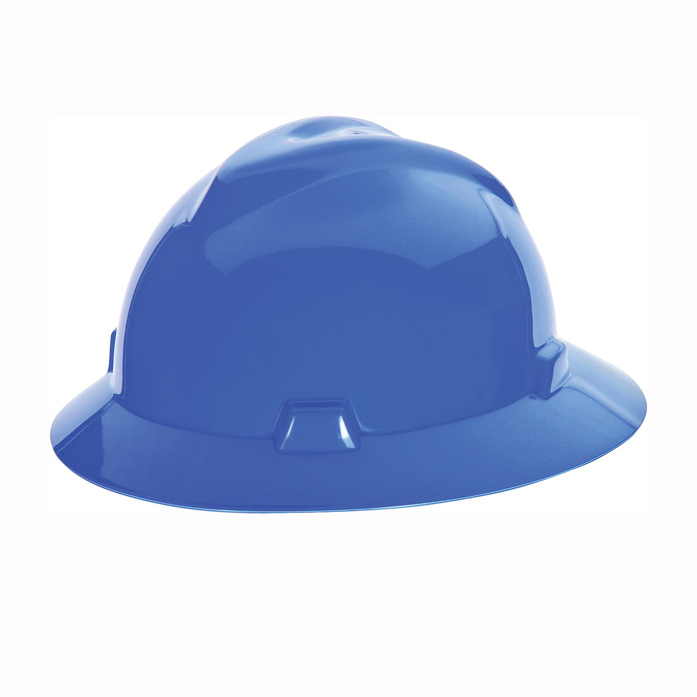 Picture of MSA SWX00427 Hard Hat, 4-Point Textile Suspension, HDPE Shell, Blue, Class: E