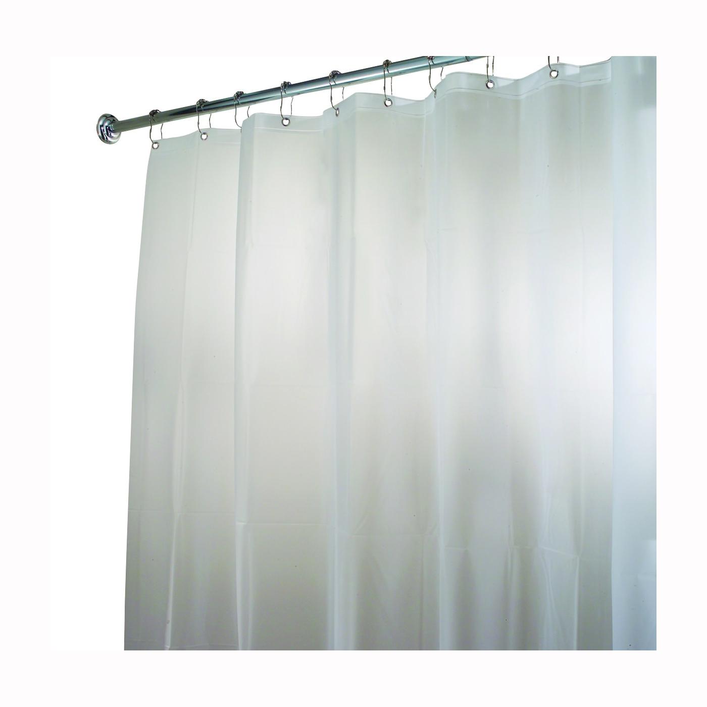 Picture of iDESIGN 14752 Shower Curtain/Liner, 72 in L, 72 in W, EVA Foam, White