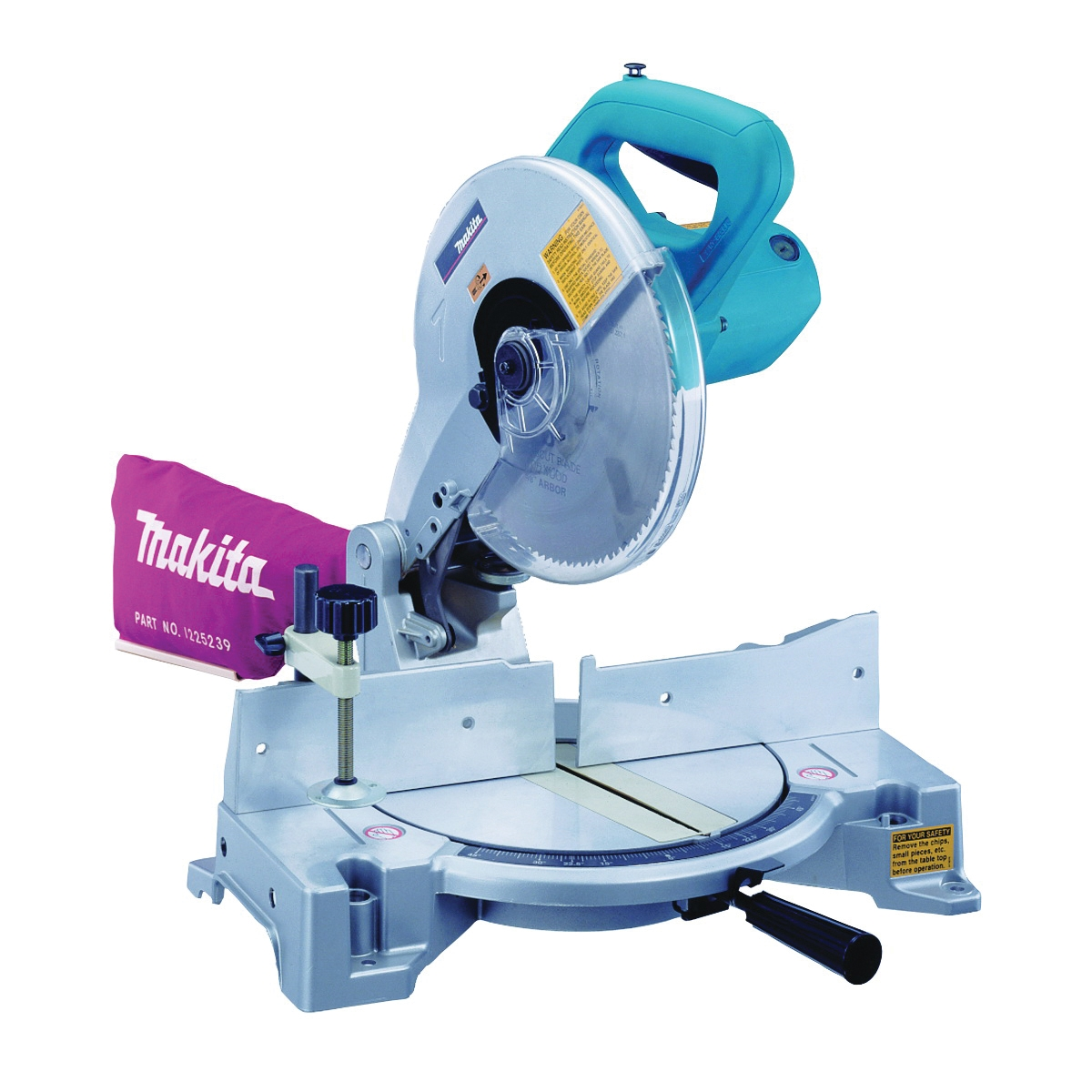 Picture of Makita LS1040 Miter Saw, 10 in Dia Blade, 1-3/8 x 3-5/8 in deg at 45, 2-3/4 x 5-1/8 in at 90 deg Cutting Capacity