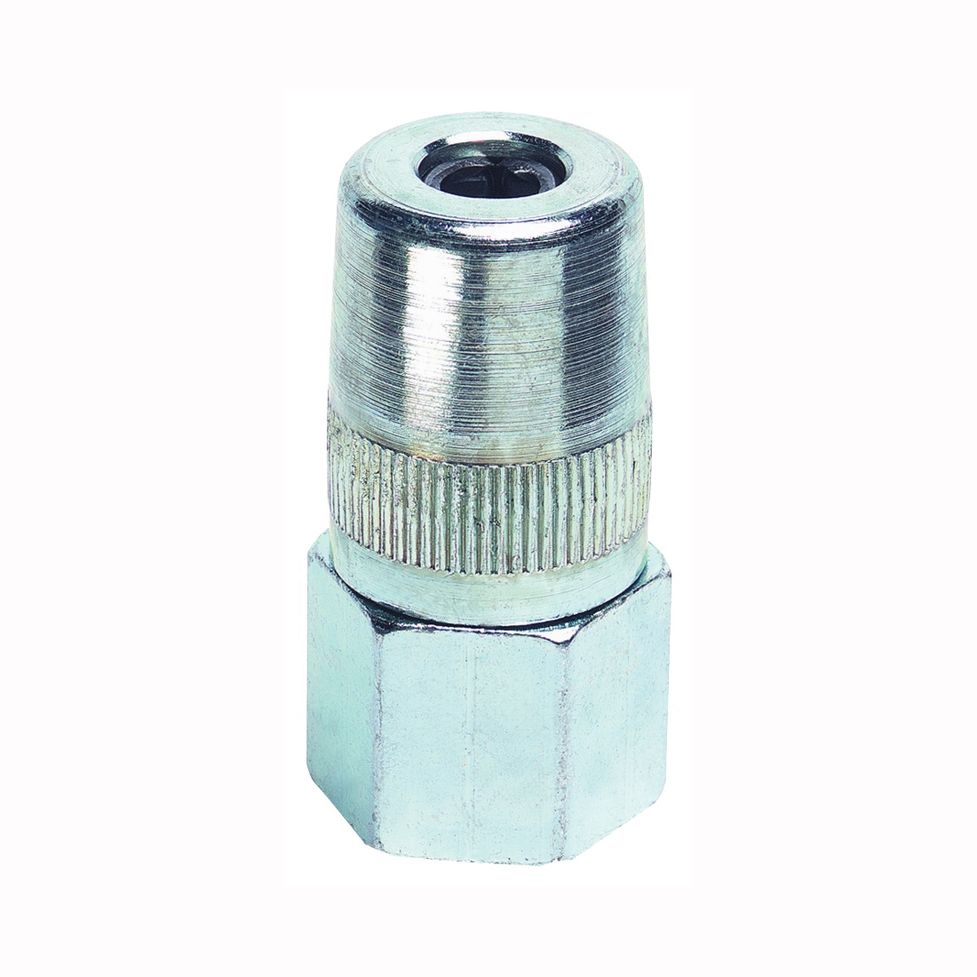 Picture of LubriMatic 05-034 Coupler, 1/8 in, 1-1/2 in L, 6000 psi Pressure, Steel