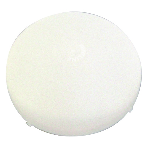 Picture of US Hardware V-097B Exhaust Fan Lens Cover, Plastic, White, For: #V-027 Exhaust Fan