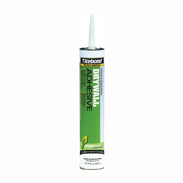 Picture of Titebond GREENchoice 7272 Drywall Adhesive, Beige, 28 oz Package, Cartridge