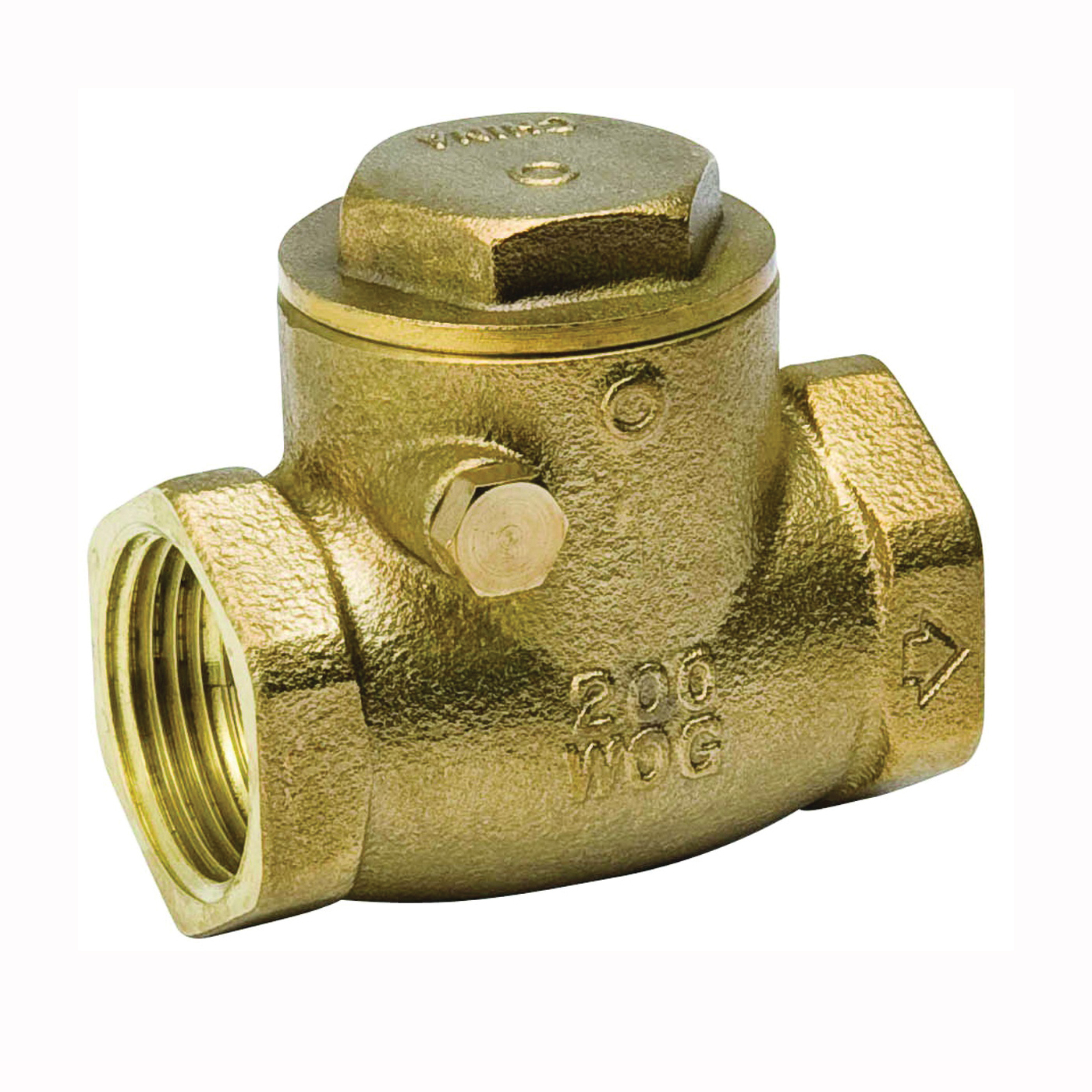 Picture of B & K ProLine 101-005NL Check Valve, 1 in, IPS, 200 psi Pressure, Brass Body