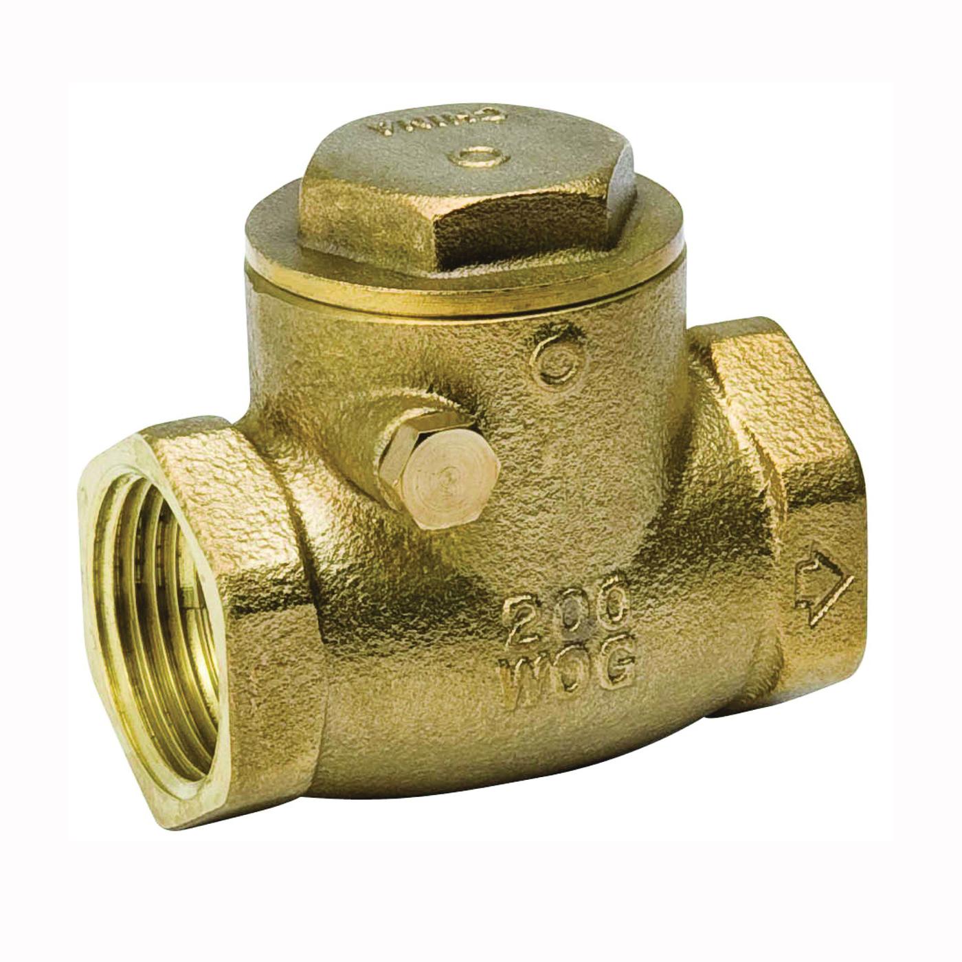 Picture of B & K ProLine 101-008NL Check Valve, 2 in, IPS, 200 psi Pressure, Brass Body