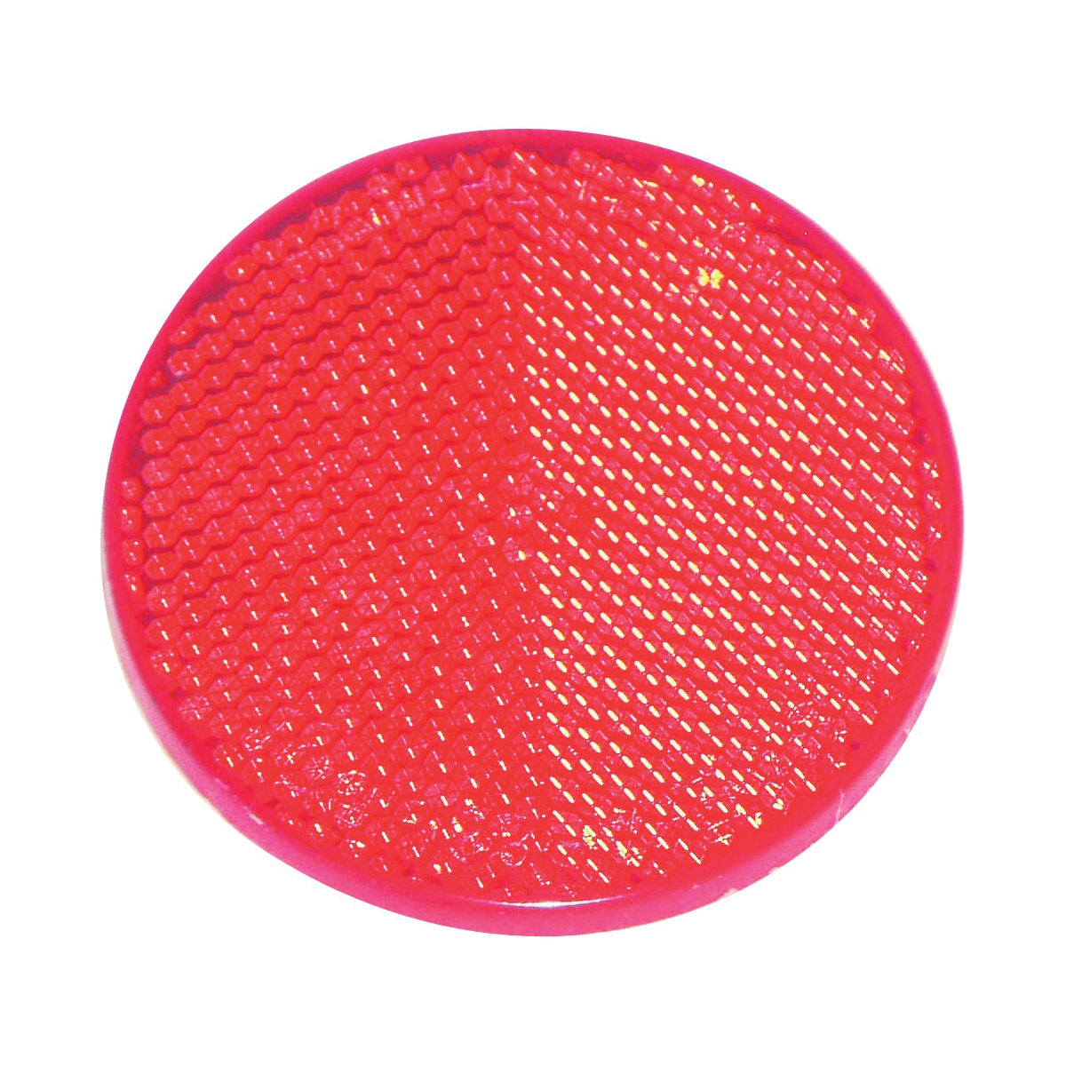 Picture of US Hardware RV-657C Safety Reflector, Red Reflector, Plastic Reflector, Adhesive Mounting