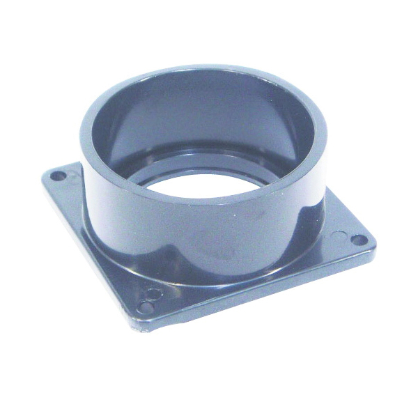 Picture of US Hardware RV-702B Slip Socket Flange, 3 in ID, Female, ABS, Black