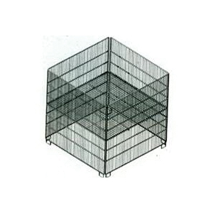 Picture of SOUTHERN IMPERIAL R40-CLDB-SQ Dump Bin, Zinc, Square