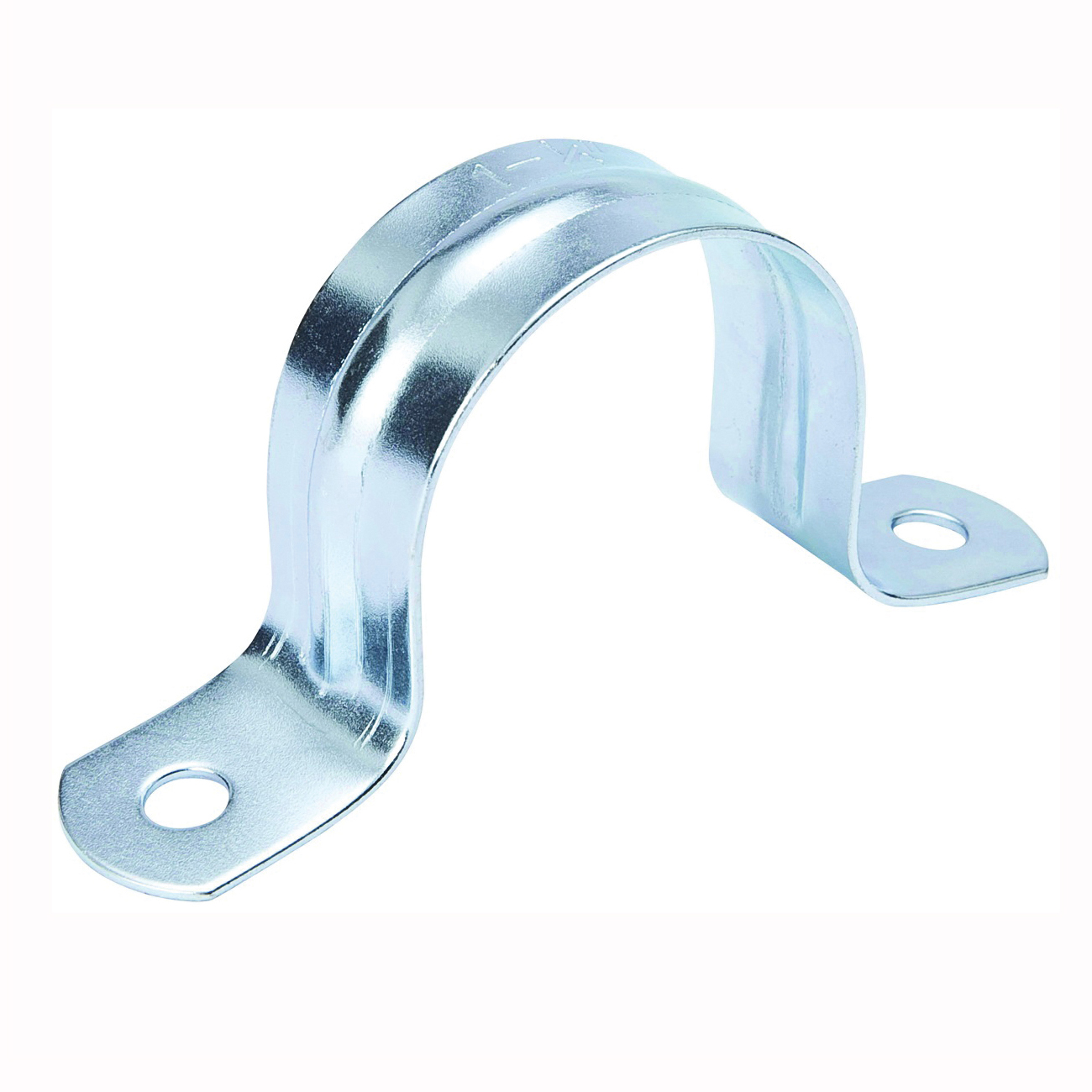Picture of B & K G13-075HC Pipe Strap, 3/4 in Opening, Galvanized Steel, 25