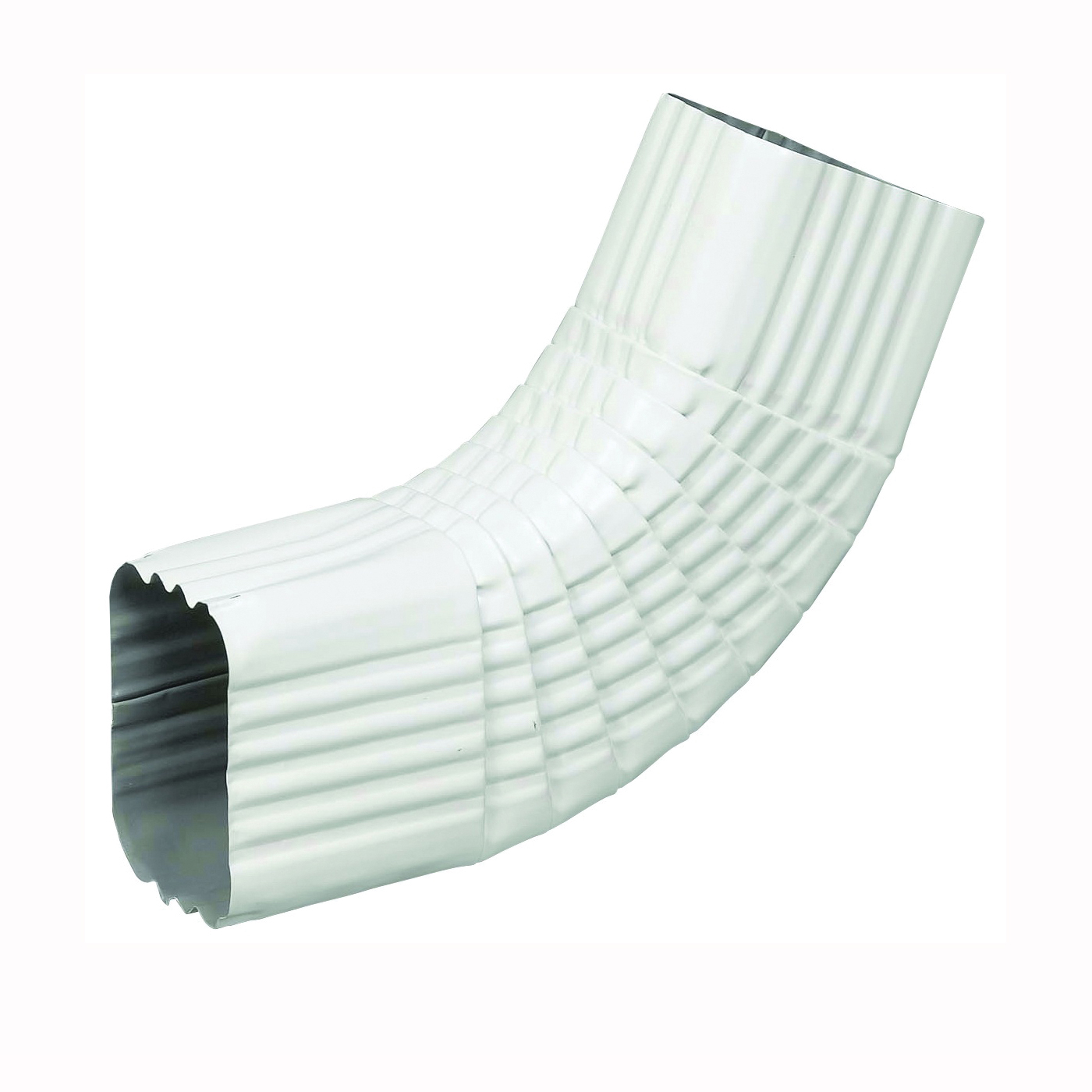 Picture of Amerimax 27065 Gutter Side Elbow, Aluminum, White