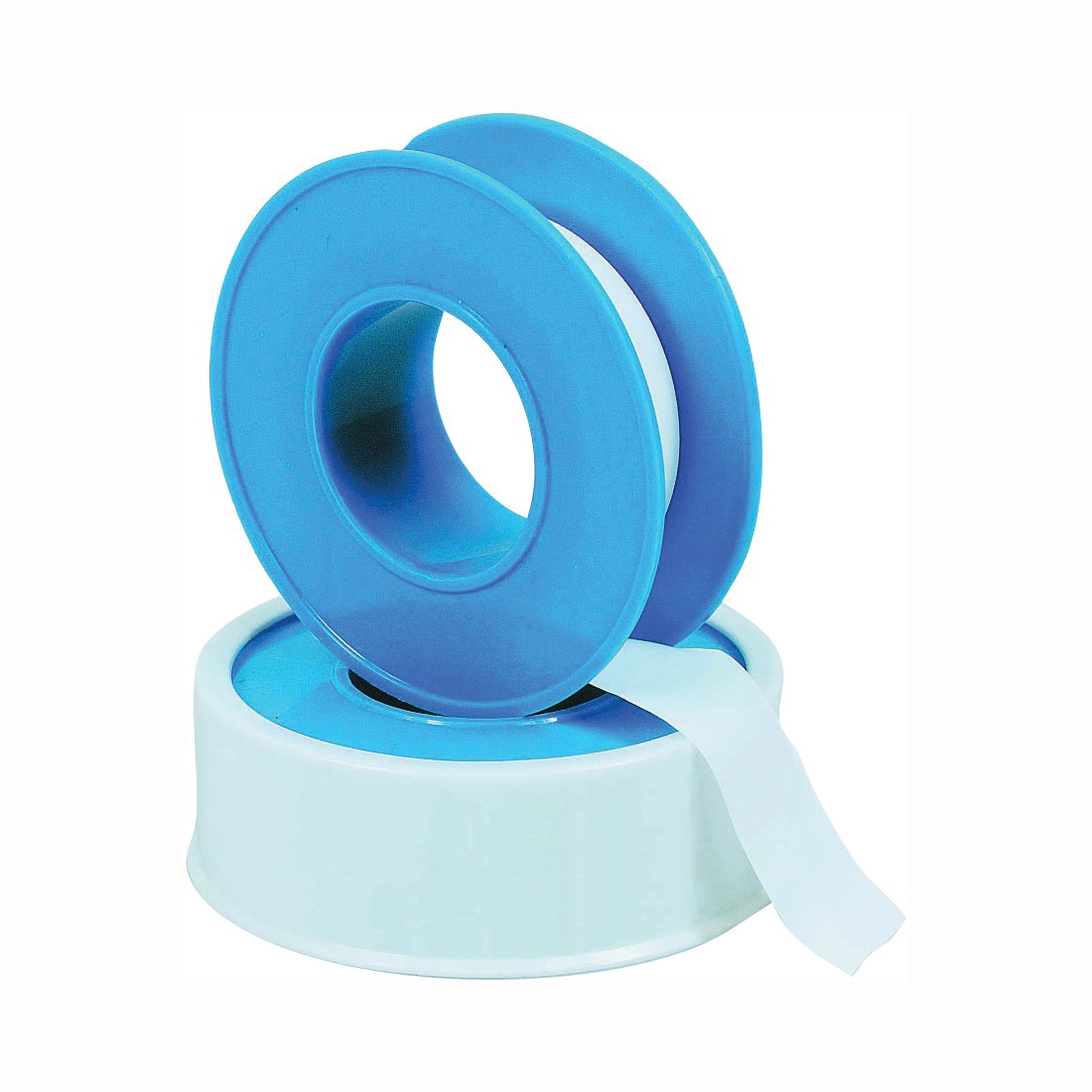 Picture of HARVEY 017252-144 Thread Seal Tape, 520 in L, 3/4 in W, PTFE, Blue/White