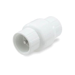 Picture of NDS 1001-20 Check Valve, 2 in, FPT, 200 psi Pressure, PVC Body