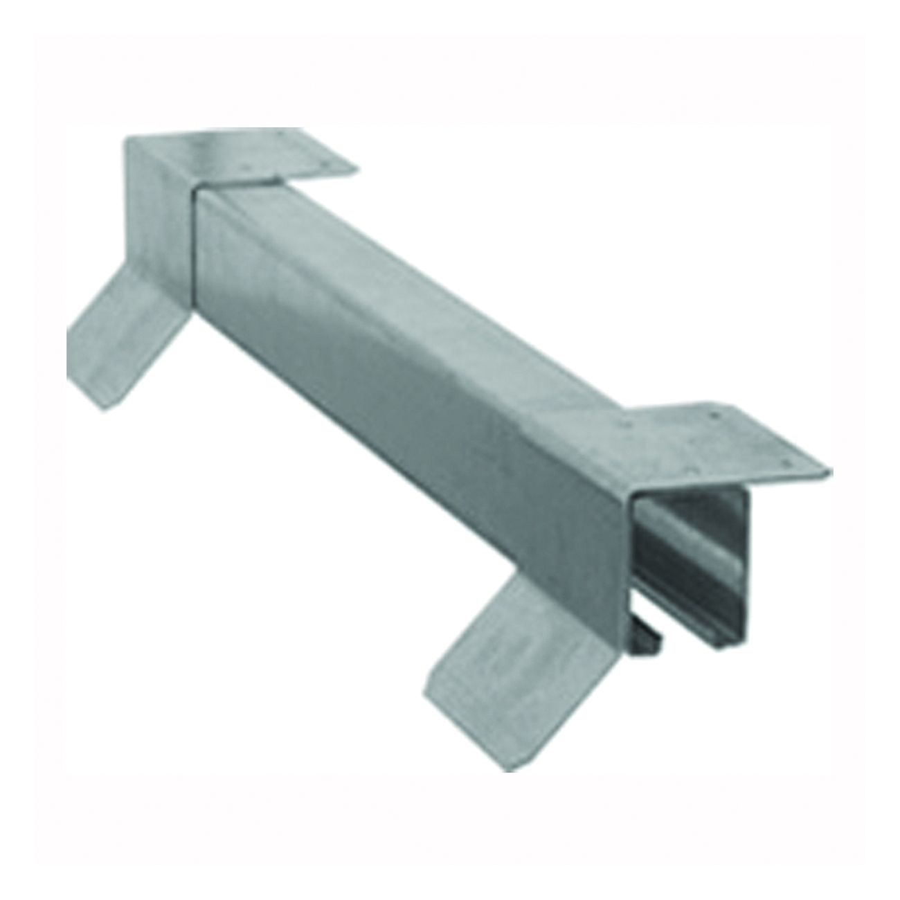 Picture of National Hardware N142-158 Box Rail, Steel, Galvanized, 12 ft L