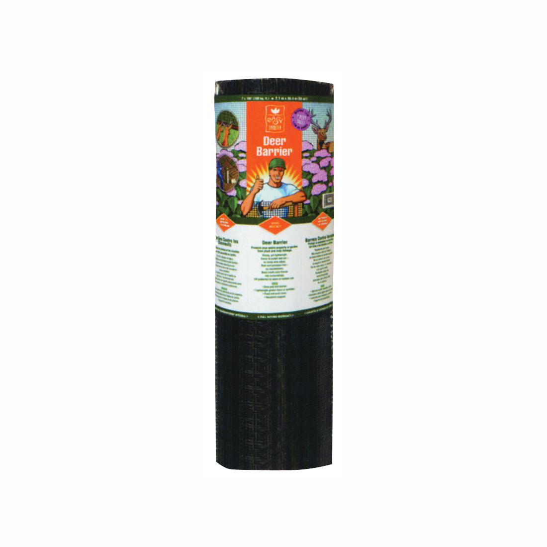 Picture of Jobes LG400171 Deer Barrier, 100 ft L, 7 ft H, Polypropylene, Black