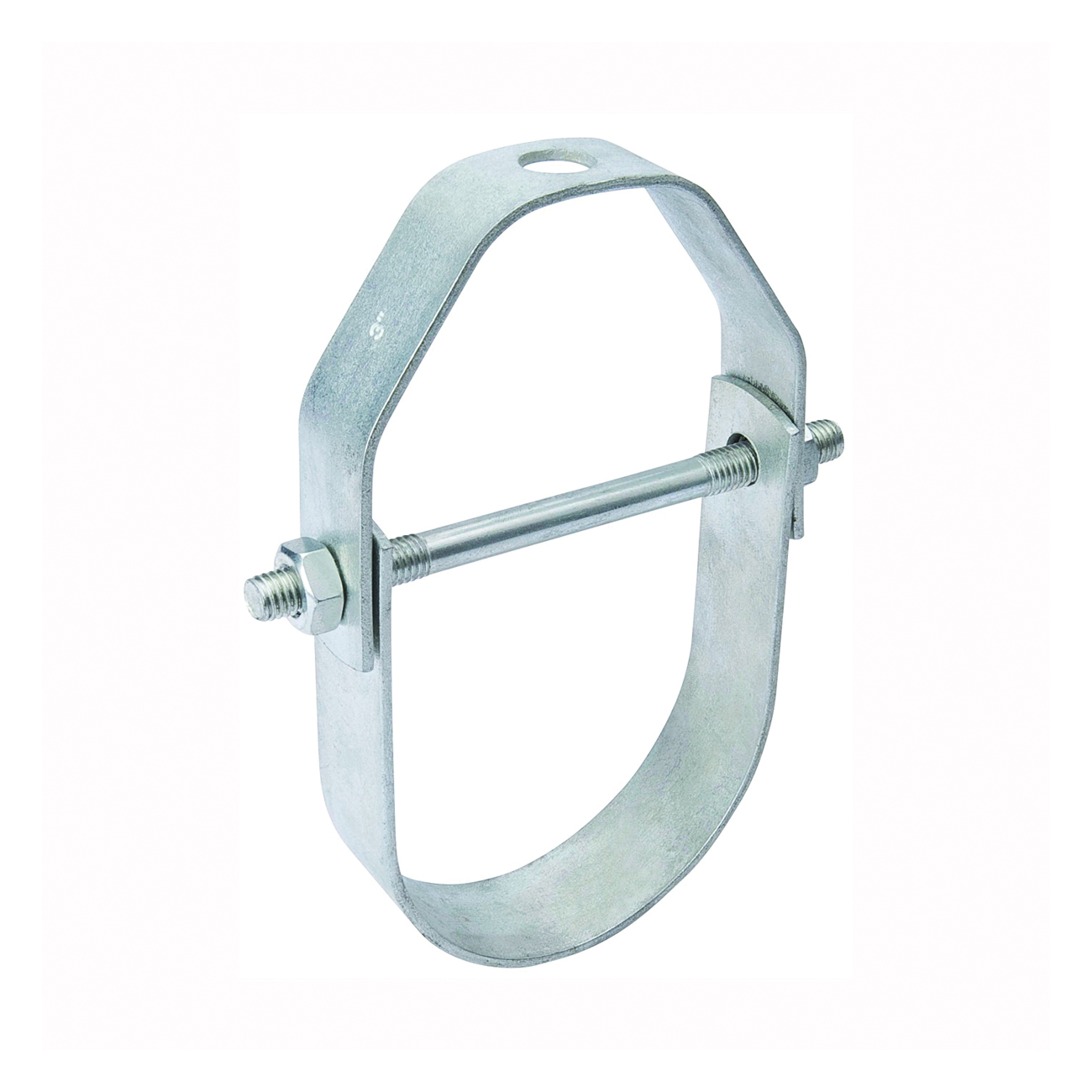 Picture of B & K G65-050HC Pipe Hanger, 1/2 in Opening, Galvanized Steel, 20