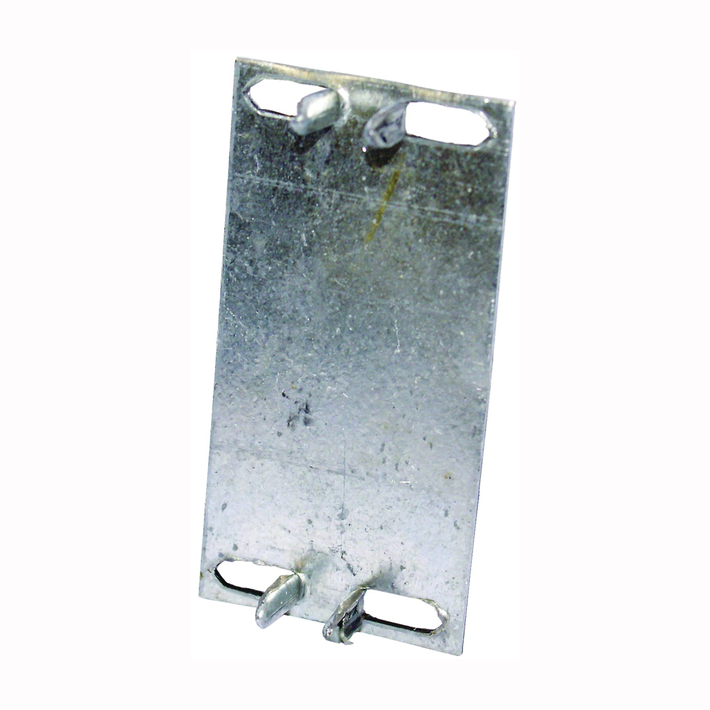 Picture of MiTek KNS Series KNS1 Protection Plate, 3 in L, 1-1/2 in W, 1/16 in Thick, Aluminum