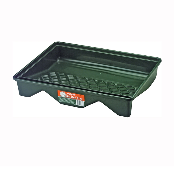 Picture of WOOSTER Big Ben BR412-21 Paint Tray, 16 in L, 21 in W, 1 gal Capacity, Polypropylene Co-Polymer, Green