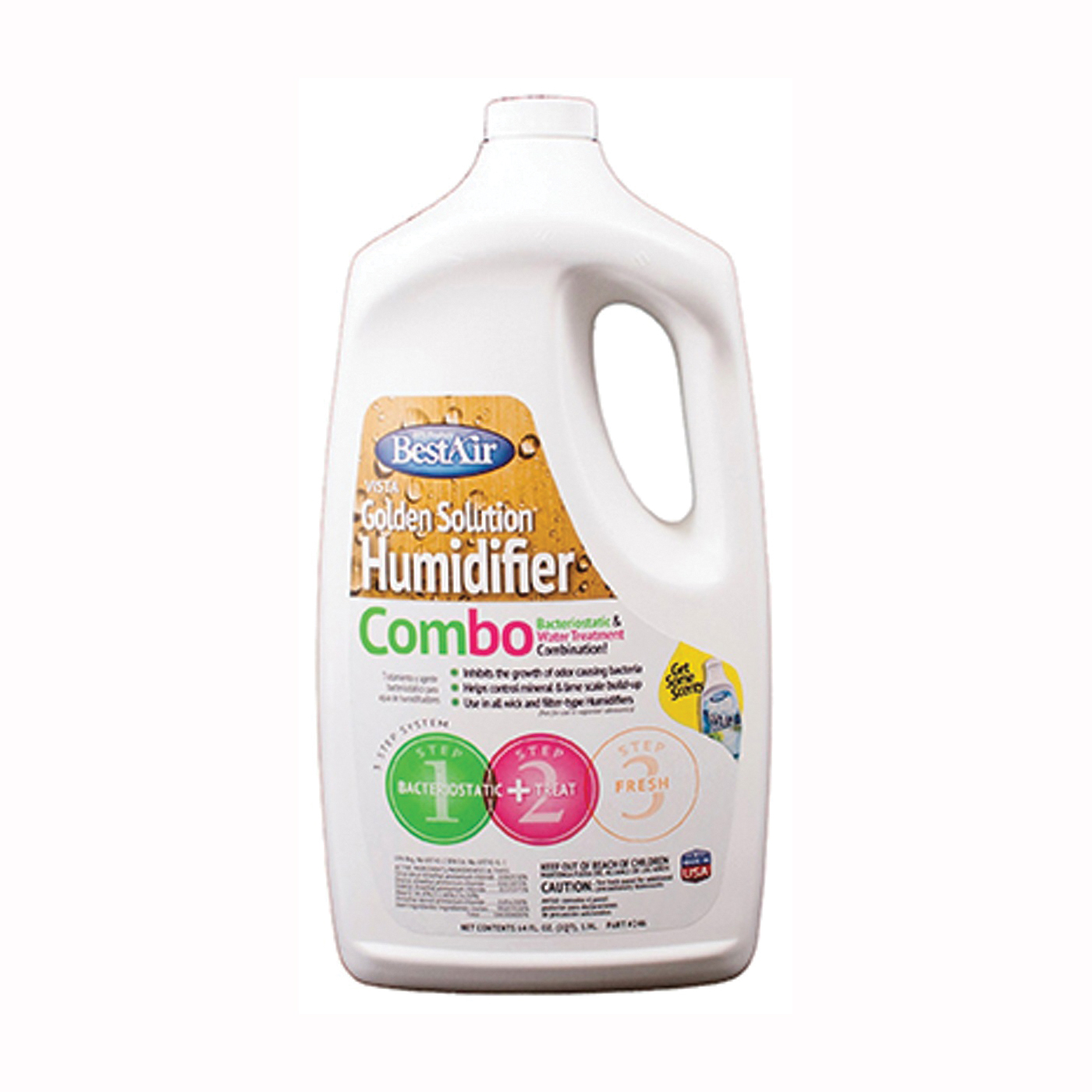 Picture of BestAir 246 Water Treatment Humidifier, Liquid, Clear, Pungent, 64 oz Package