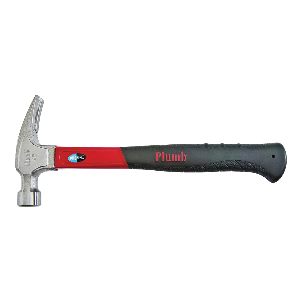 Picture of Plumb Pak 11415N Rip Claw Hammer, 16 oz Head, Premium, Polished Head, 13-1/2 in OAL