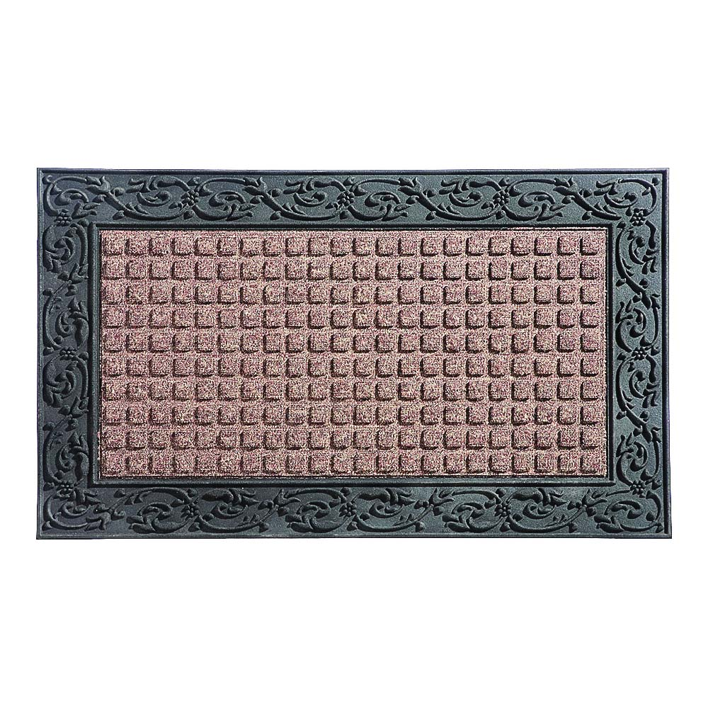 Picture of Simple Spaces 08ABSHE-30 Door Mat, 36 in L, 22 in W, Polypropylene Surface