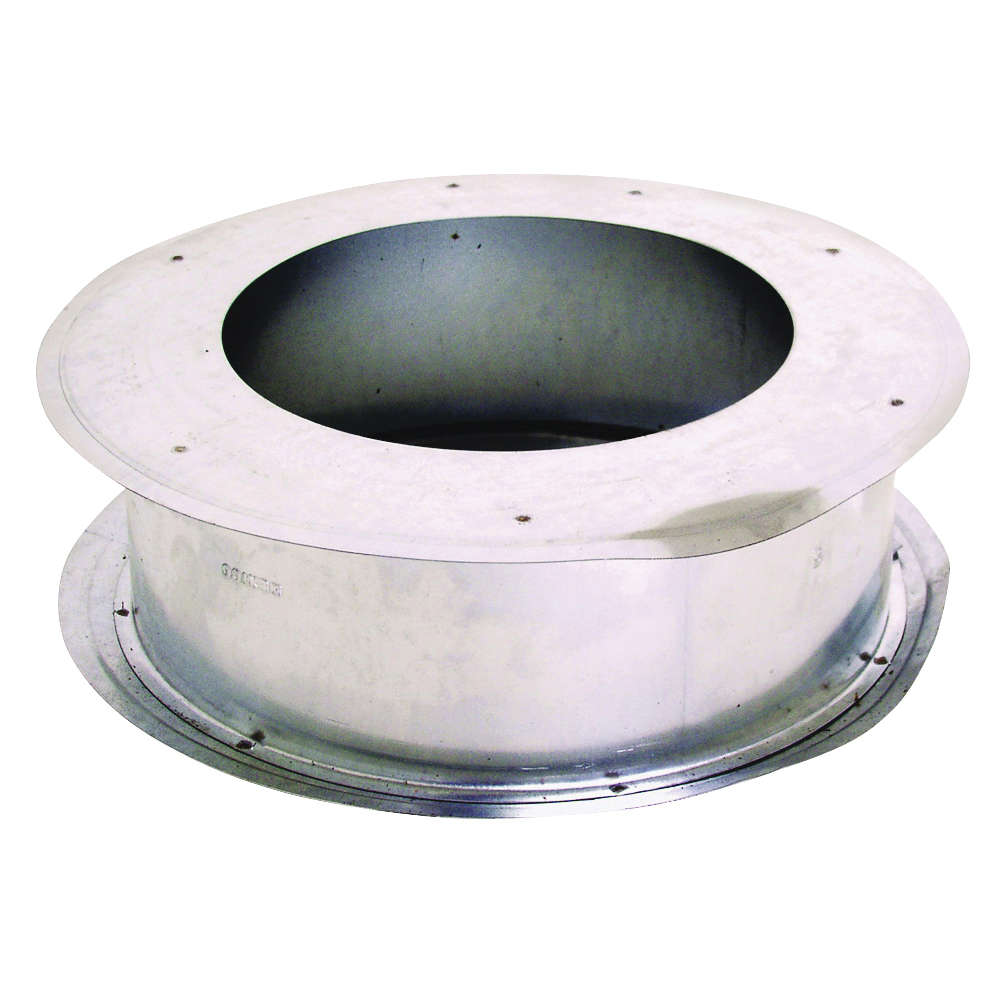 Picture of AmeriVent 3EWT Wall Thimble, 0.018 Gauge, Galvanized Steel, For: Type B Gas Vent Pipe
