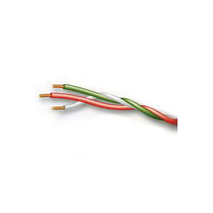 Picture of CCI 5407 Bell Wire, 18 AWG Wire, 2-Conductor, Thermoplastic Insulation, Red/White Sheath, 150 V