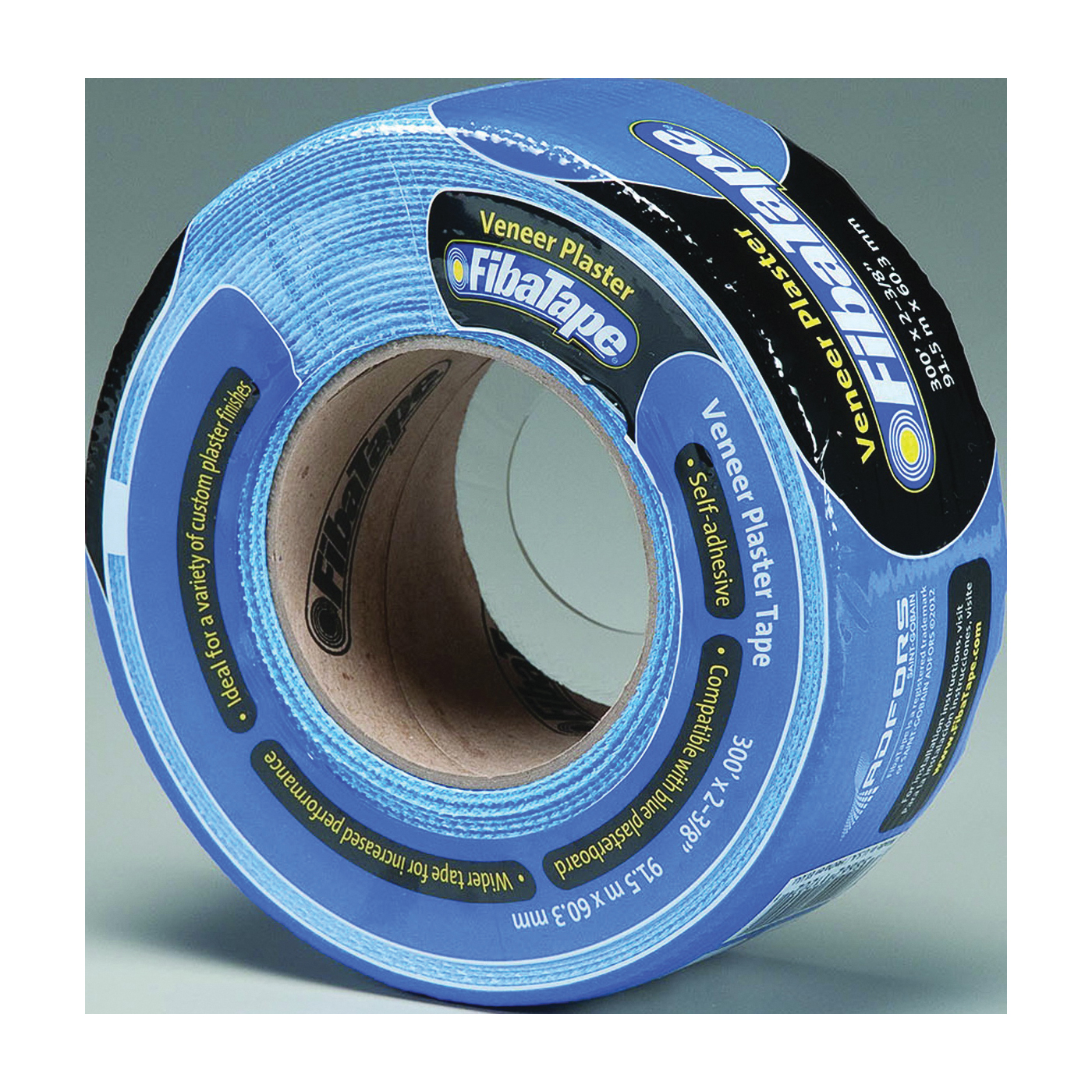 Picture of ADFORS FDW6586-U Veneer Plaster Tape Wrap, 300 ft L, 2-3/8 in W, Blue, Wrap