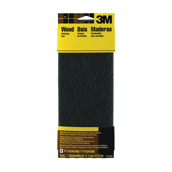 Picture of 3M 7415 Stripping Pad, 11 in L, 4-3/8 in W, Medium