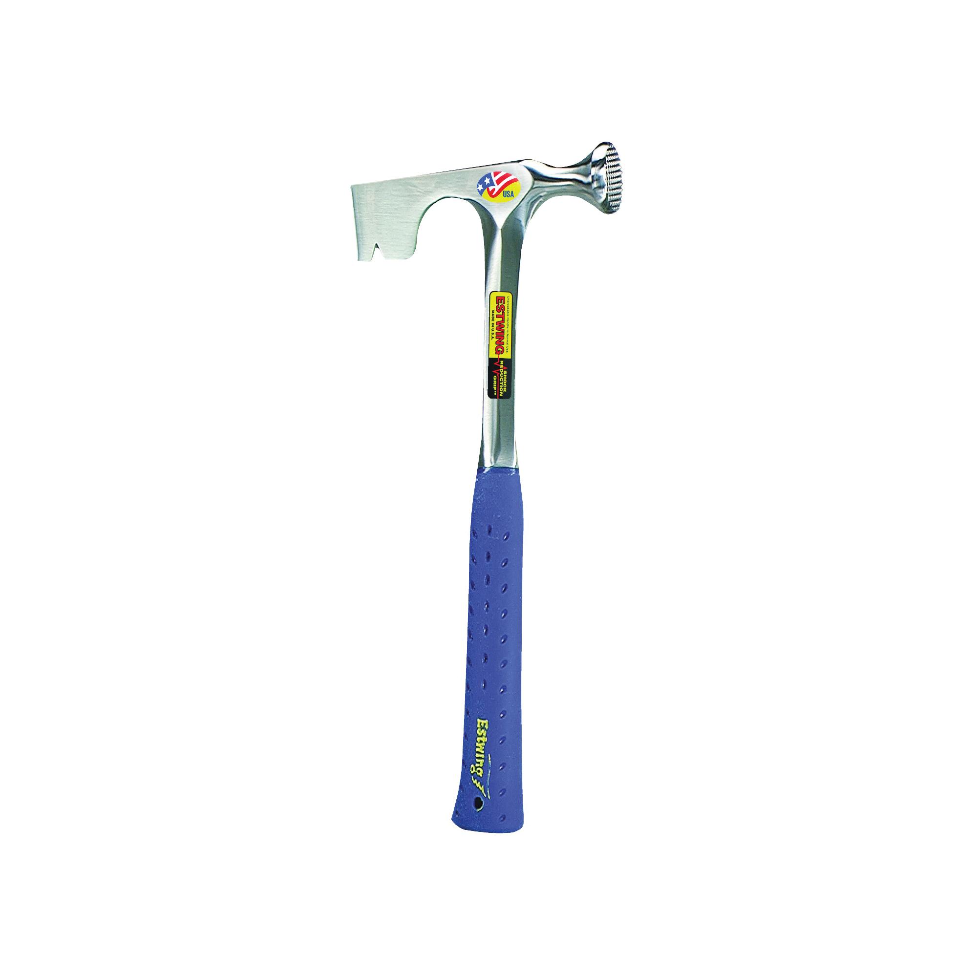 Picture of Estwing E3-11 Drywall Hammer, 11 oz Head, Milled Head, Steel Head, 14 in OAL