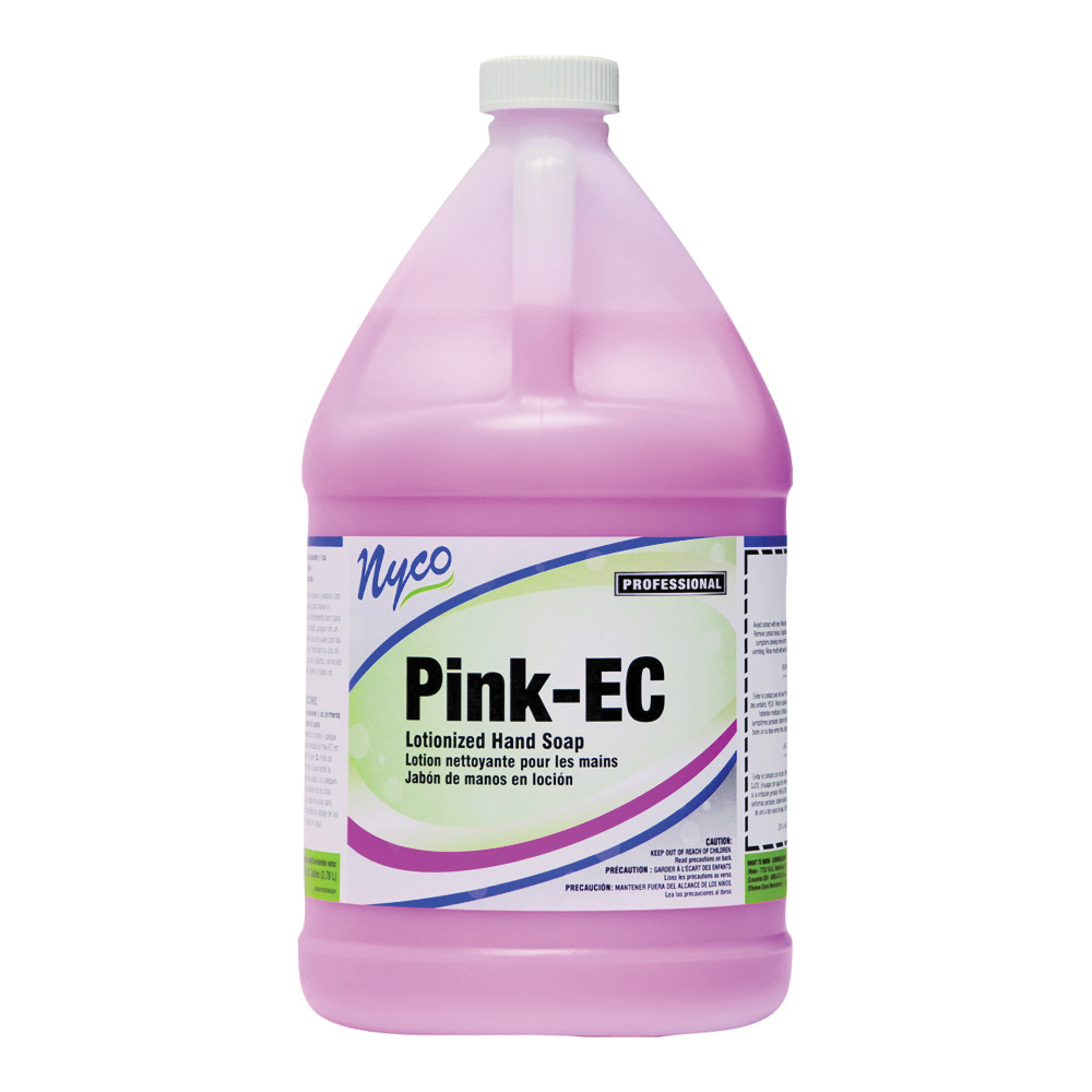 Picture of nyco NL358-G4 Hand Cleaner, Liquid, Pink, Floral, 1 gal Package