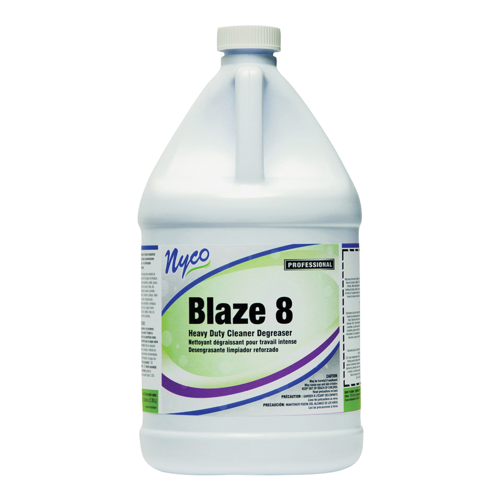 Picture of nyco NL220-G4 Cleaner/Degreaser, 4 gal Package, Bottle, Liquid, Sassafras, Violet