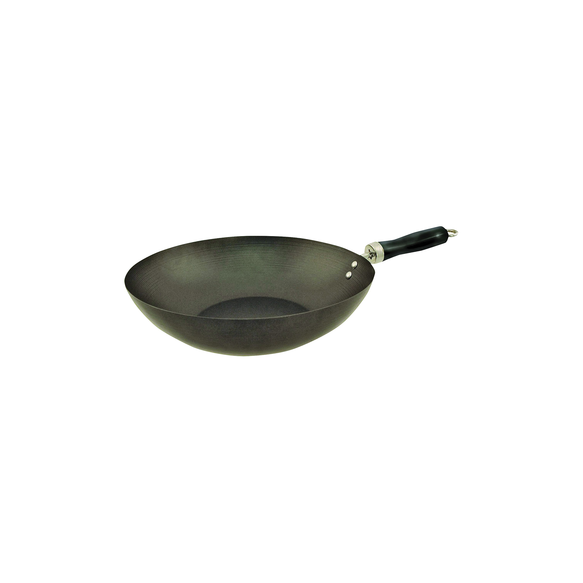 Picture of Euro-Ware Eurohome 417 Wok, 6.5 qt Capacity, 12 in Dia, Heat-Resistant Handle