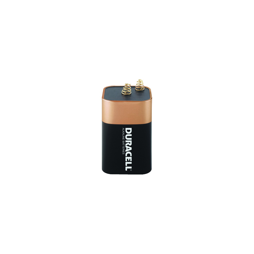 Picture of DURACELL MN908 Alkaline Battery, 6 V Battery, 11.5 Ah, 4LR25X Battery, Manganese Dioxide, 1
