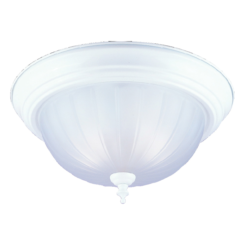 Picture of Boston Harbor F51WH02-1005-3L Ceiling Light Fixture, 2-Lamp, CFL Lamp, White Fixture