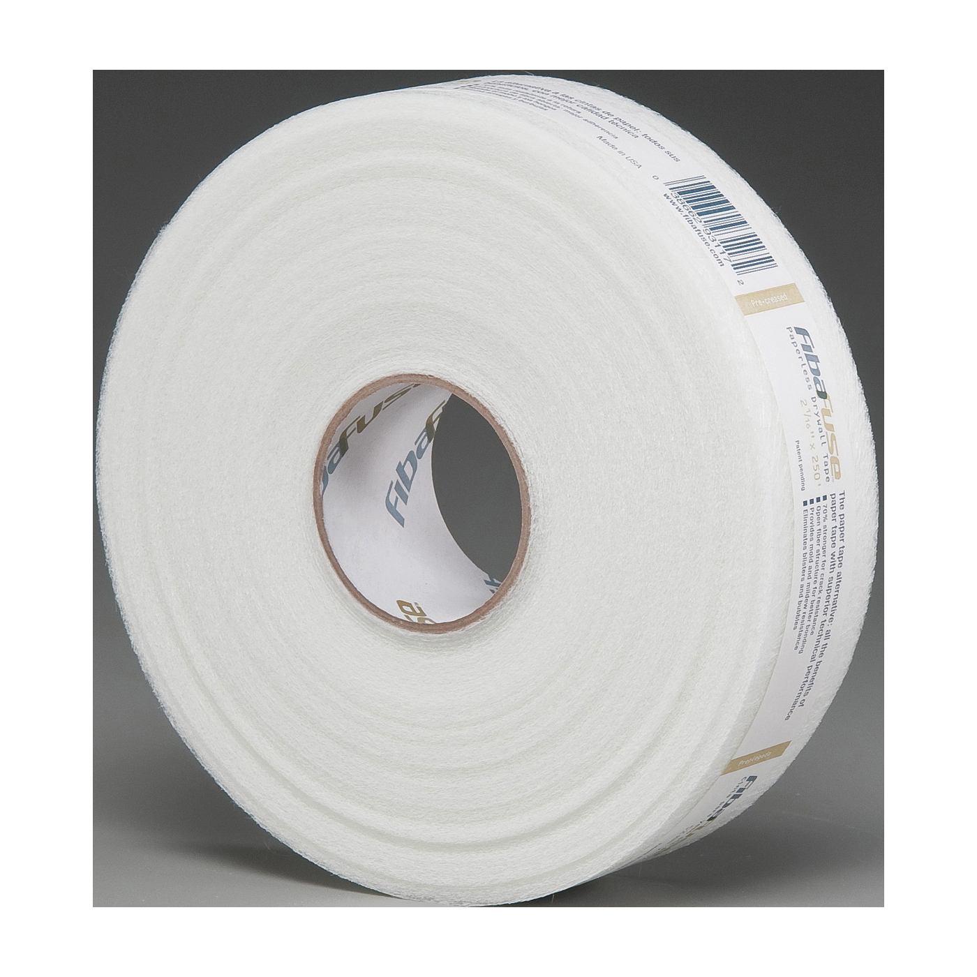 Picture of ADFORS FDW8652-U Drywall Tape Pack, 250 ft L, 2-1/16 in W, 0.432 in Thick, White, Pack