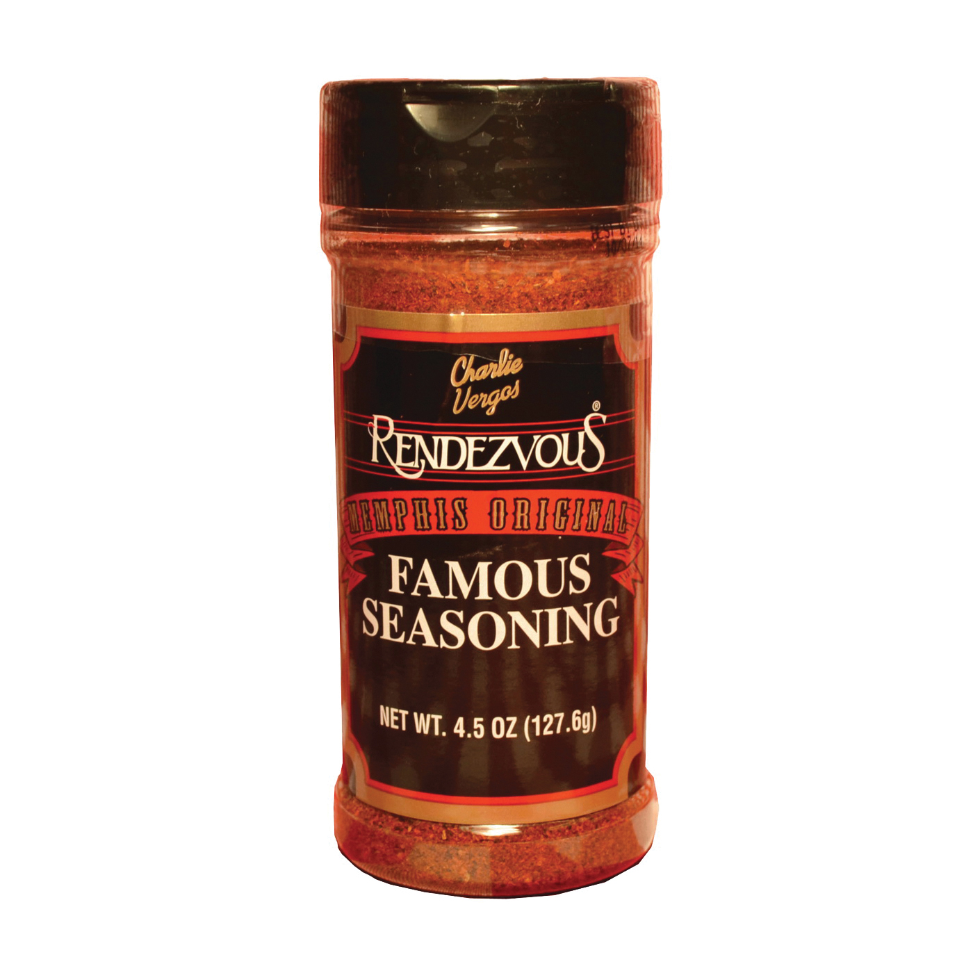 Picture of Charlie Vergos Rendezvous 1 Famous Seasoning, 4.5 oz Package, Bottle