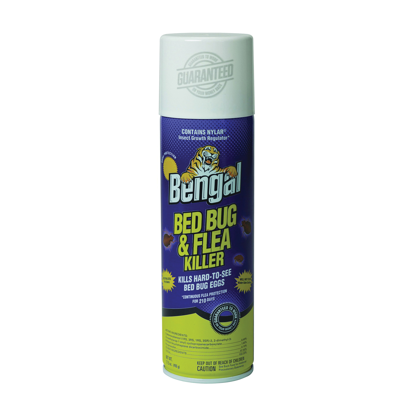 Picture of Bengal 87560 Bedbug and Flea Killer, Liquid, Spray Application, 17.5 oz Package, Bottle