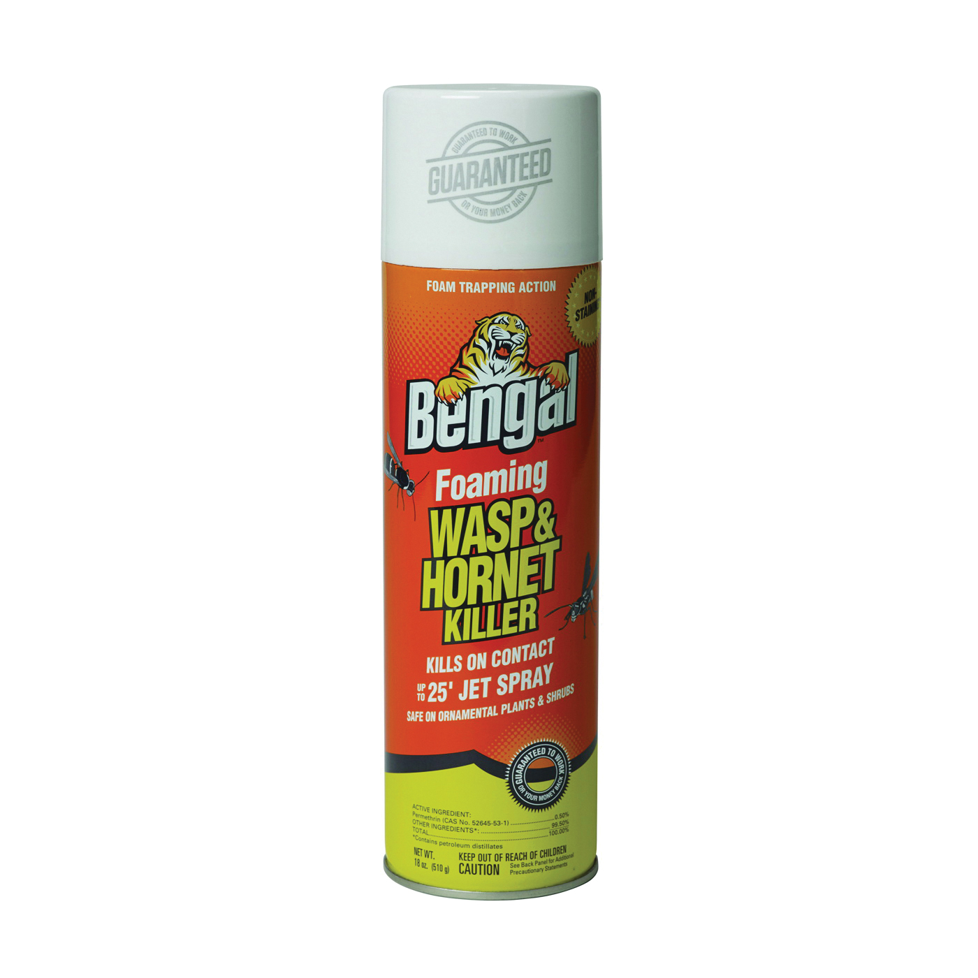 Picture of Bengal 97121 Wasp and Hornet Killer, Opaque Emulsion, Spray Application, 18 oz Package