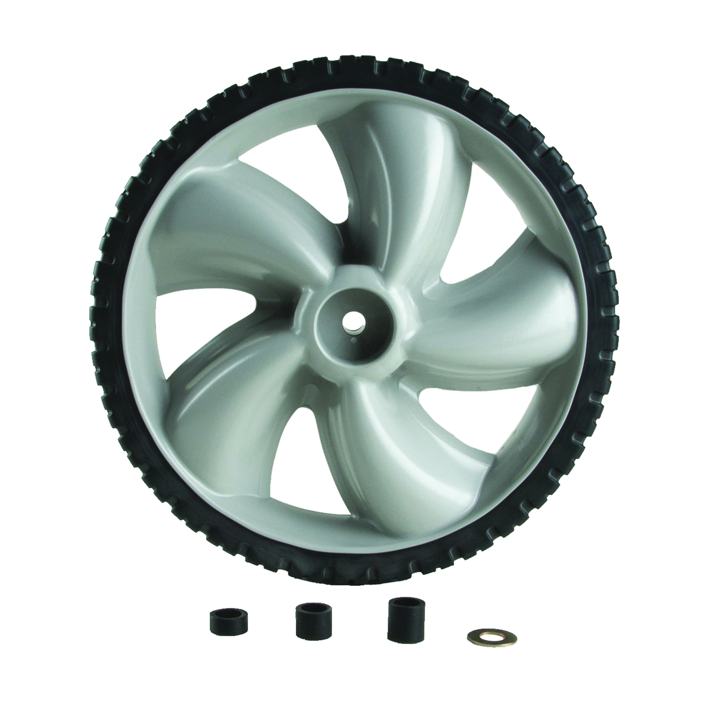 Picture of ARNOLD 490-324-0002 Lawn Mower Wheel, Replacement, Plastic/Rubber