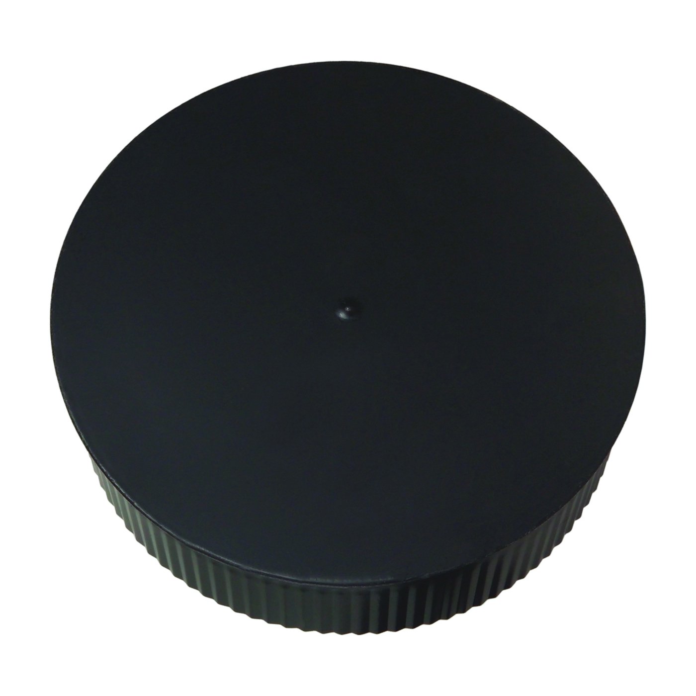 Picture of Imperial BM0151 Round End Cap, 6 in Dia, Black