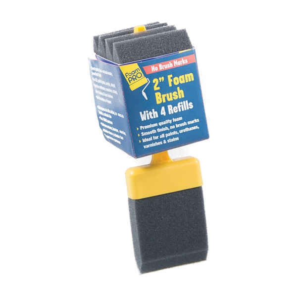 Picture of FOAMPRO 72-4 Paint Brush, 2 in W Brush