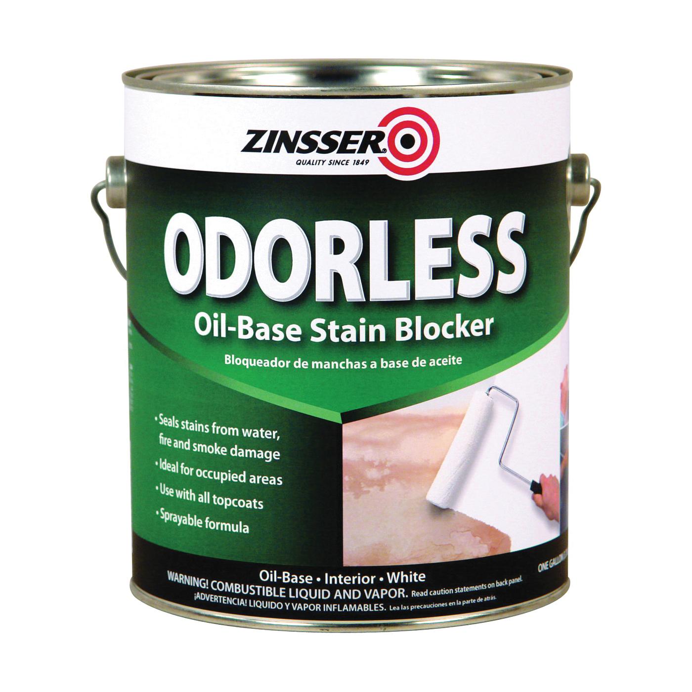 Picture of ZINSSER 3951 Stain Blocker, Flat, White, 1 gal